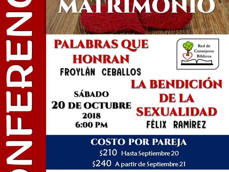 Conferencia para Matrimonios